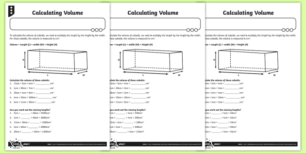 Multiplying Three Numbers Activity Sheets