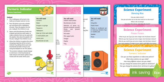 Diwali Science Experiments Resource Pack