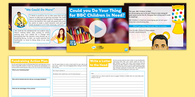 'Could You Do Your Thing for BBC Children in Need?' Debate Pack