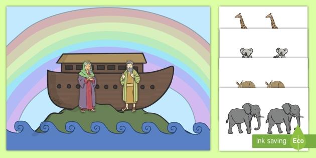 Noah's Ark Printable Activities for Preschool to First Grade | 315x630