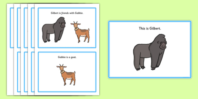 Initial g Story - speech sounds, phonology, phonological delay, phonological disorder, articulation, speech therapy, dyspraxia