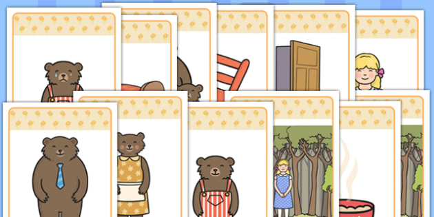 Goldilocks and the Three Bears Pictures - goldilocks, pictures