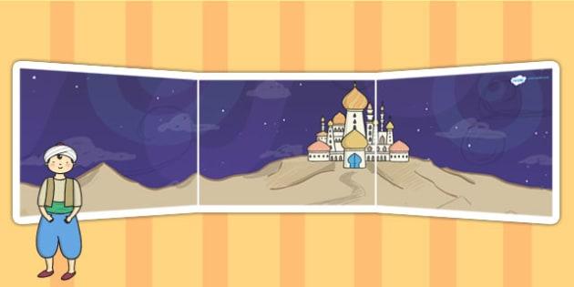 Aladdin Small World Background - aladdin, small world, role play