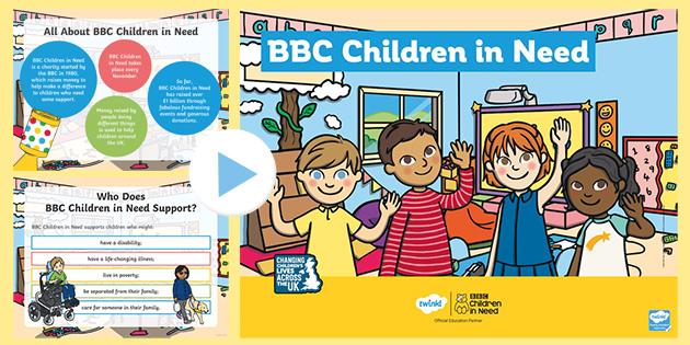 BBC Children in Need Presentation