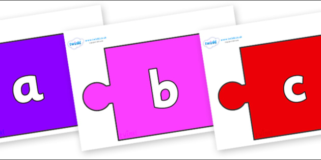 Phoneme Set on Jigsaw Pieces - Phoneme set, phonemes, phoneme, Letters and Sounds, DfES, display, Phase 1, Phase 2, Phase 3, Phase 5, Foundation, Literacy