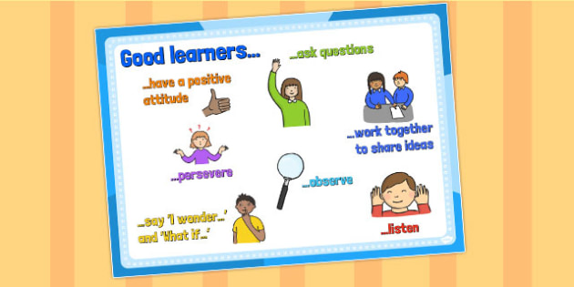 A4 Good Learners Poster KS1 - ks1, poster, good learners, a4