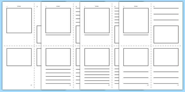 Mini Book Template