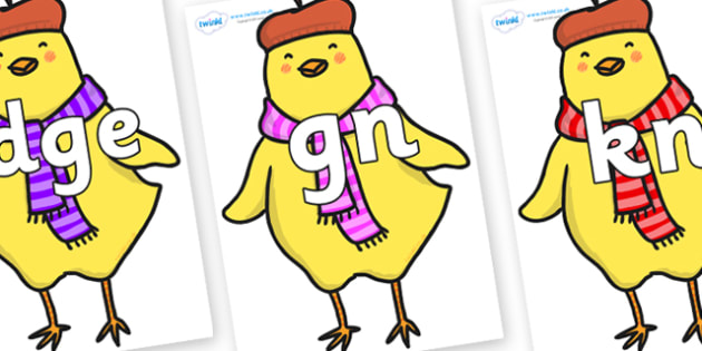Silent Letters on Chicken Licken - Silent Letters, silent letter, letter blend, consonant, consonants, digraph, trigraph, A-Z letters, literacy, alphabet, letters, alternative sounds