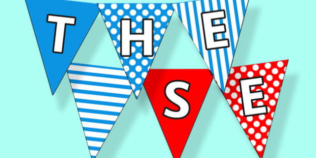 THE SEASIDE Bunting with Patterns - the seaside, seaside, at the seaside, beach, seaside bunting, seaside display bunting, seaside display, bunting