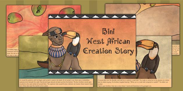 Kingdom of Benin: Bini Creation Story