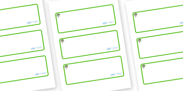 Rowan Tree Themed Editable Drawer-Peg-Name Labels (Blank) - Themed Classroom Label Templates, Resource Labels, Name Labels, Editable Labels, Drawer Labels, Coat Peg Labels, Peg Label, KS1 Labels, Foundation Labels, Foundation Stage Labels, Teaching L