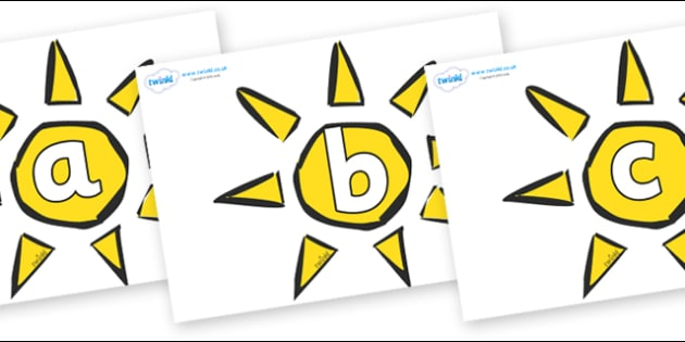 Phoneme Set on The Sun - Phoneme set, phonemes, phoneme, Letters and Sounds, DfES, display, Phase 1, Phase 2, Phase 3, Phase 5, Foundation, Literacy