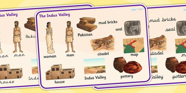 The Indus Valley Word Mat - bronze age, history, indus valley