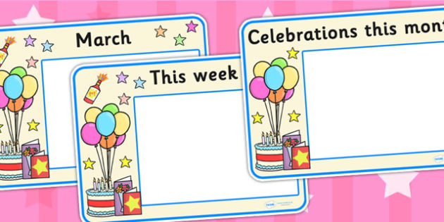 Celebrations and Festivals Calendar Posters - calendar, posters