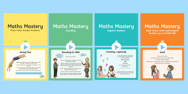 Year 6 Number and Place Value Maths Mastery Activities Resource Pack