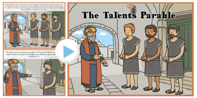 The Talents Parable PowerPoint - parables, talents, powerpoint