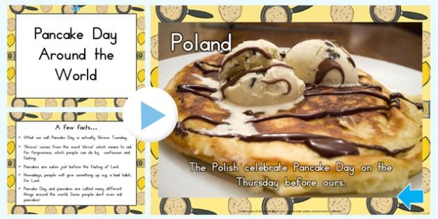 Pancake Day Around the World PowerPoint - australia, pancake