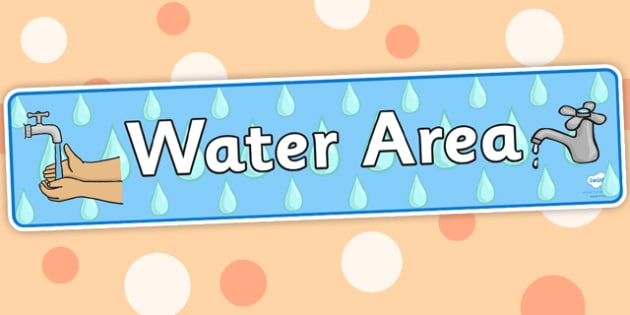 Water Area Display Banner - water area, display banner, banner for display, banner, display, header, display header, header for display, themed banner