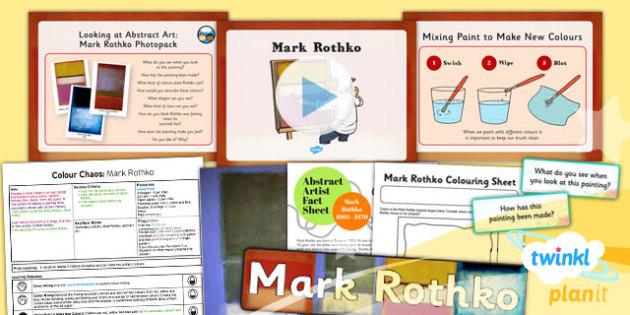 Art: Colour Chaos: Rothko KS1 Lesson Pack 2