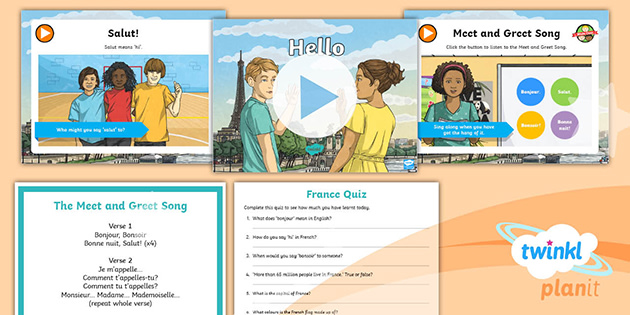 * NEW * Weekly Language Session: French Hello