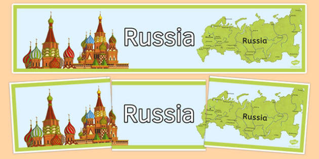 Russia Display Banner - russia, display banner, display, banner, country, geography