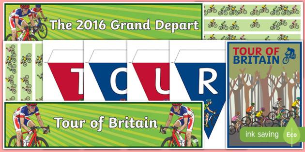 Tour of Britain Display Pack