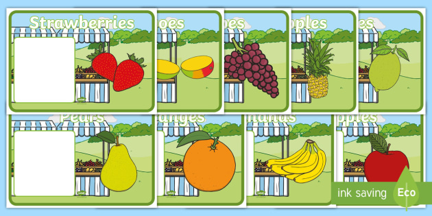 editable class group signs fruit fruit group signs group