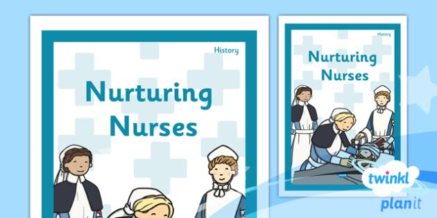 History: Nurturing Nurses KS1 Unit Book Cover