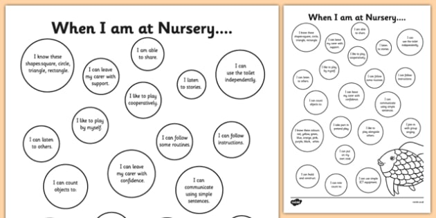EYFS Under the Sea Themed On Entry to Nursery Assessment Record - EYFS assessment, inital assessment, nursery assessment, reception assessment, nursery, reception, fs1, fs2, foundation stage,