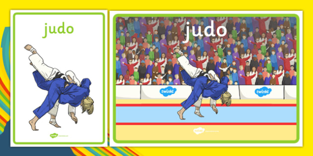 Rio 2016 Olympics Judo Display Posters - Judo, Olympics, Olympic Games, sports, Olympic, London, 2012, display, banner, poster, sign, activity, Olympic torch, events, flag, countries, medal, Olympic Rings, mascots, flame, compete
