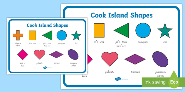 Cook islands months of the year bilingual display poster cook cook island shapes display poster m4hsunfo