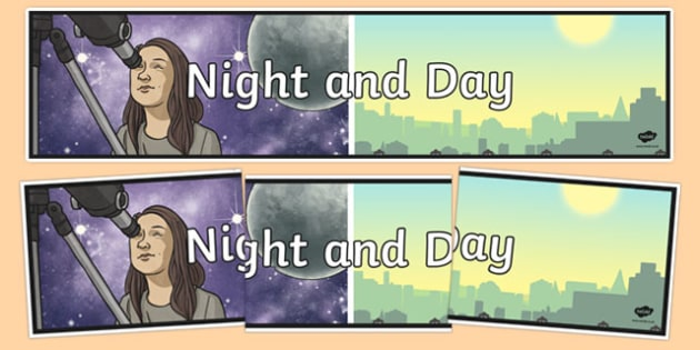 Night and Day Display Banner - australia, night and day, display banner, display, banner
