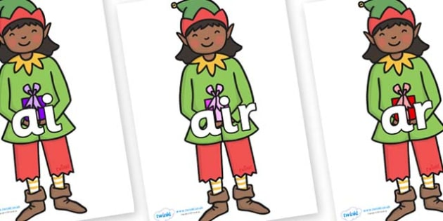 Phase 3 Phonemes on Elves - Phonemes, phoneme, Phase 3, Phase three, Foundation, Literacy, Letters and Sounds, DfES, display