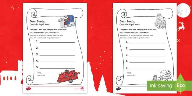 Prince georges letter to santa writing template english prince georges letter to santa writing template english spanish list royal spiritdancerdesigns Images