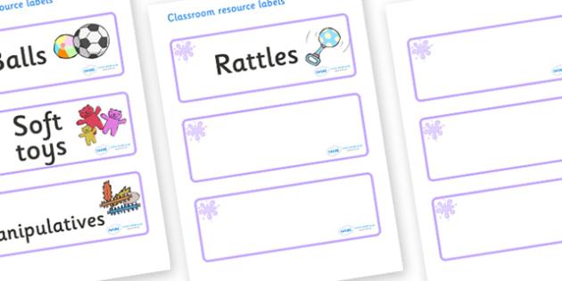 Lilac Themed Editable Additional Resource Labels - Themed Label template, Resource Label, Name Labels, Editable Labels, Drawer Labels, KS1 Labels, Foundation Labels, Foundation Stage Labels, Teaching Labels, Resource Labels, Tray Labels, Printable la