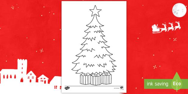 Malvorlage Weihnachtsbaum.New Gestalte Deinen Eigenen Weihnachtsbaum Malvorlage
