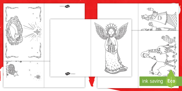 mindfulness coloring nativity cards christmas coloring cards christmas cards nativity jesus