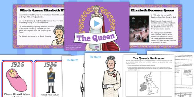 Queen Elizabeth II Resource Pack - queen elizabeth ii, resource, pack