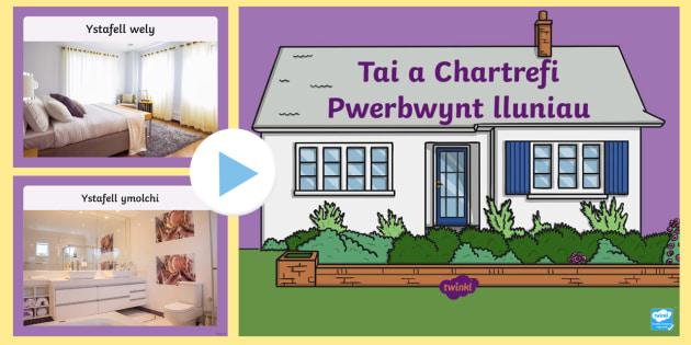 Lluniau Tai a Chartrefi PowerPoint - lluniau, tai, cartrefi, chartrefi, pwerbwynt,Welsh