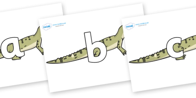 Phoneme Set on Aligator - Phoneme set, phonemes, phoneme, Letters and Sounds, DfES, display, Phase 1, Phase 2, Phase 3, Phase 5, Foundation, Literacy