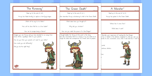How to Train Your Dragon Challenge Activities - australia, dragon, train