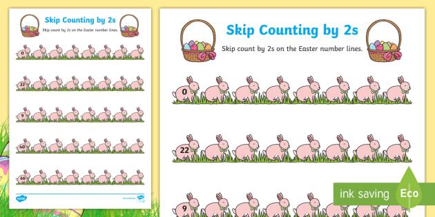 easter skip counting by 2s worksheet worksheet australia easter maths. Black Bedroom Furniture Sets. Home Design Ideas