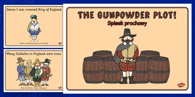 The Gunpowder Plot Story Sequencing Polish Translation - polish