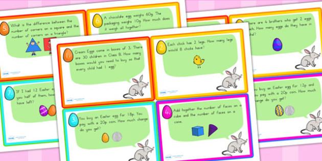 Easter Challenge Hunt Cards - easter, religion, RE, easter games