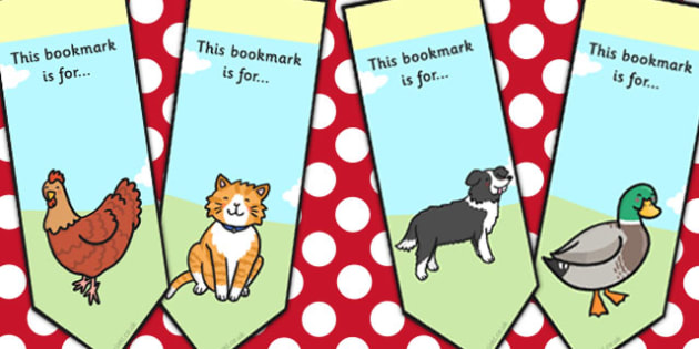 The Little Red Hen Editable Bookmarks - bookmarks, little red hen