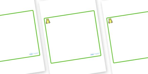 Frog Themed Editable Classroom Area Display Sign - Themed Classroom Area Signs, KS1, Banner, Foundation Stage Area Signs, Classroom labels, Area labels, Area Signs, Classroom Areas, Poster, Display, Areas