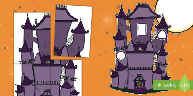 Halloween Haunted House Door Display Cut-Outs