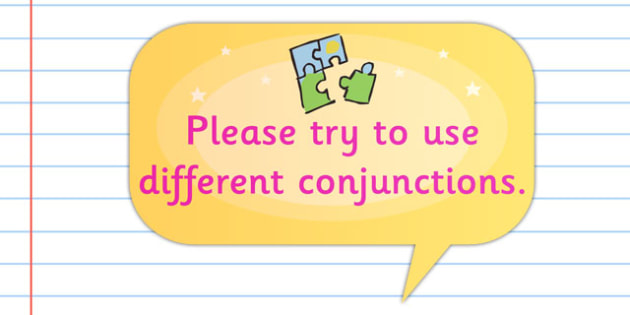 Time Saving Speech Stickers Mark Conjunctions - Connectives