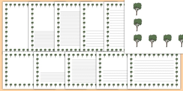 Bay Tree Themed Page Borders - bay tree, themed, page borders, page, borders, bay, tree