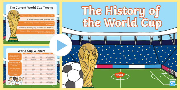 The History of the World Cup PowerPoint - world cup, powerpoint